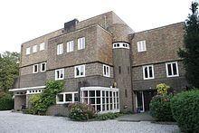 Amsterdamse School, Villa De Wachter. Amersfoort, architect: Hendrik Wijdeveld. 1927-1929