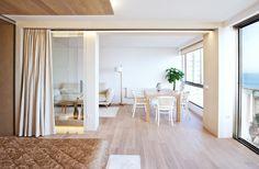 Uso de cortinas para la separación de ambientes