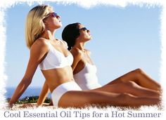 Cool Essential Oil Tips for a Hot Summer #SummerFoodie