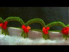 Bico de crochê para pano de prato - CROCHÊ 57 - DIY - YouTube
