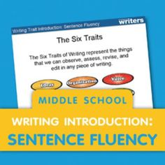 Free Mini-Lessons to Introduce the Six Traits of Writing Six Trait Writing, Middle School Writing Prompts, Fourth Grade Writing, Writing Lessons, Writing Notebook, Writing Workshop, Writing Process, Writing Ideas, Writing Curriculum