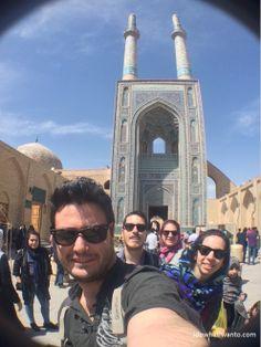 Masjed-e Jameh Yazd Iran #idowhatiwanto