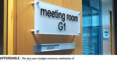 Suite Signs on Pinterest | Office Signs, Signage and Door Signs