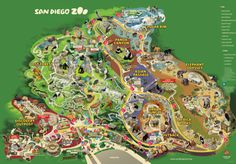 San+Diego+CA+Zoo+Map   San Diego Zoo San Diego