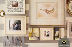 abode love: a man's home is his wife's castle: art, art, art
