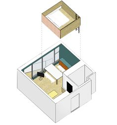 Duas soluções espertas fazem microcasa parecer maior | Arquitetura e Construção