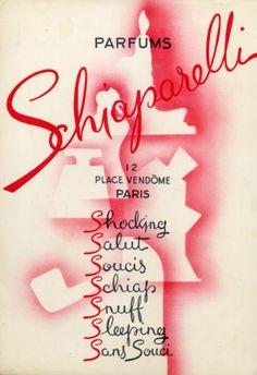 Parfums #Schiaparelli (1945) #perfume