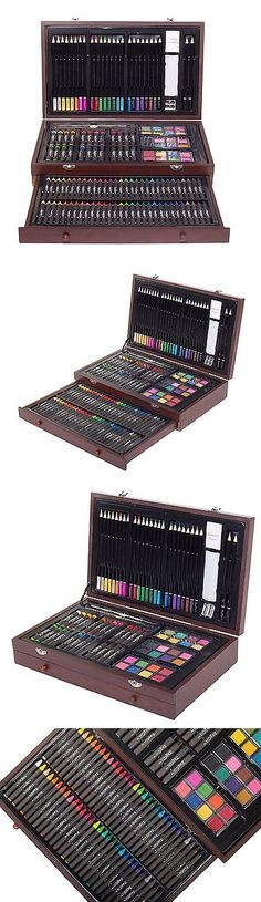 Art Pencils and Charcoal 28108: Art Supplies For Teens Adults Coloring Pencils Shading Paint Set Drawing Kit New -> BUY IT NOW ONLY: $32 on eBay!