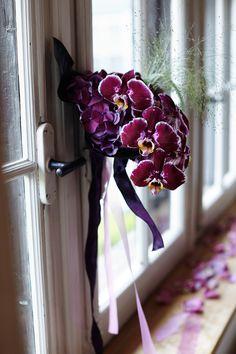 blumen hochzeit saal orchidee lila