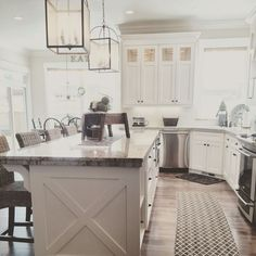 Cottage/Country Kitchen photo by Yellow Prairie Interior Design