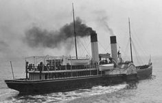 SS Alexandra which ran from Hastings Pier ~ Many steamers were owned or chartered by the Hastings steamer company. Carrick Castle, Hastings Pier, Melbourne, Sydney, The Bonnie, Tug Boats, Steamers, Swansea, Paddle