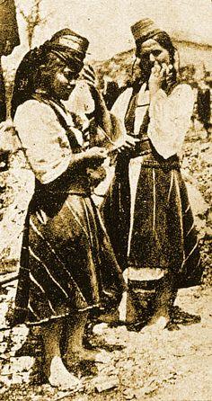 Arvanitovlaches - Mouzakirias, Közép-Albánia, a 19. század vége, Tache Papahagi, Koukoudis 2, 293