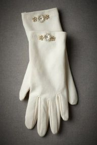 Remembering the days of white gloves. by BHLDN