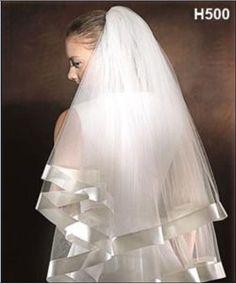2t White Satin Edge Bridal Veil. 2t White Satin Edge Bridal Veil on Tradesy Weddings (formerly Recycled Bride), the world's largest wedding marketplace. Price $26.00...Could You Get it For Less? Click Now to Find Out!