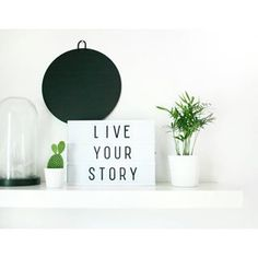 Lightbox inspiration | #Lightbox | Photocredit nmd_home