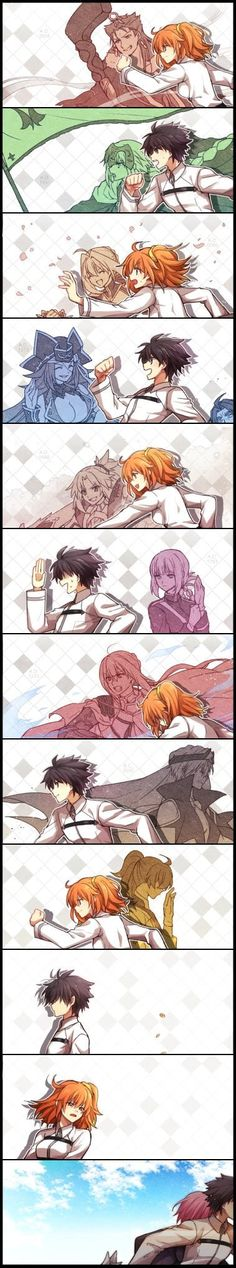 Even if we lose someone along the way, we must keep moving forward to a better future (Fate/Grand Order)