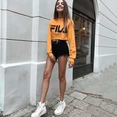 Street style ootd ideas for you Mode Outfits, Trendy Outfits, Summer Outfits, Girl Outfits, Fashion Outfits, 30 Outfits, Swag Fashion, Sporty Outfits, Fasion