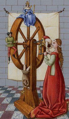 Wheel of Fortune - Medieval Tarot