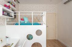 Um Dormitório Infantil para Descansar, Estudar e Brincar | Ideias Marceneiros