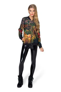 Tropical Storm BF Bomber - LIMITED by Black Milk Clothing $110AUD