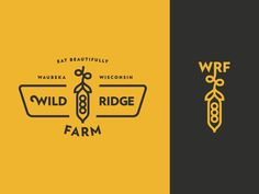 Finishing up this project. Made a little secondary logo for vertical use. Thanks to the few for the help. Typography Logo, Logo Branding, Branding Design, Brand Identity, Logo Inspiration, Agriculture Logo, Graphic Design Fonts, Hipster Design, Farm Logo