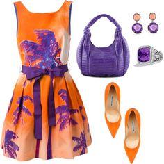 Orange and Purple !!!
