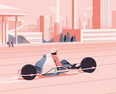 sebastien plassard - arizona dreams illustration