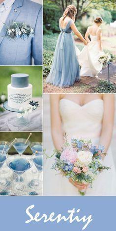 2016 pantone serenity blue wedding color ideas