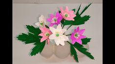How to make Crepe Paper flowers Wood Anemone / Anemone Nemorosa