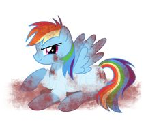 Rainbow Factory - RainbowDash by KikaruChan.deviantart.com on @deviantART Mlp Creepypasta, Christmas Tree Kit, Mlp Pony, Fiction Writing, Kids Events, Rainbow Dash, My Little Pony, Special Events, Horror
