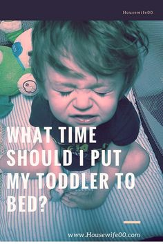 bedtime for a toddler