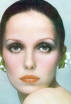 Donna Mitchell 1972 by David Bailey