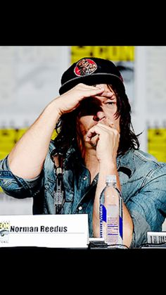 Norman Reedus at the TV Guide Fan Favorite Panel for SDCC