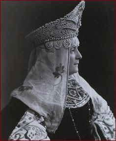 1903 Russian Costume Ball.  That's what I'm talking about.