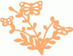 Silhouette Online Store - View Design #62995: butterfly family