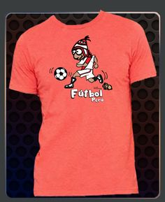 Cuy Arts Peruvian Soccer Player for Men Soccer Fans, Soccer Players, Men's Style, Peru, Mens Fashion, Mens Tops, T Shirt, Girl Clothing, Guys