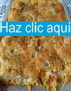 Torta cremosa de pollo, tocino y queso crema   Receitas Soberanas