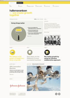 #Clean | #Yellow | HallemaVanLoon - Website development by mauva - Brought to you by http://BootcampMedia.co.uk