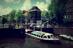 Canal tour: Explore Amsterdam by canal; hop on and off the tour boats as you experience the other Faces of Holland.