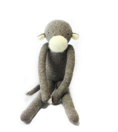 Plush Wool Monkey