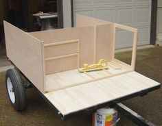 Home Built Plans for the Explorer Box at Compact Camping construction photos