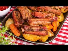 Pot Roast, Sausage, Food And Drink, Make It Yourself, Chicken, Ethnic Recipes, Facebook, Kitchen, Youtube