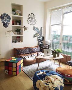 Chez Qwant - Bureau de Sophie Trem, du blog The Other Art of Living.