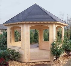 Achthoekig prieeltje / tuinhuisje Prima Chantal van Lugarde