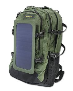 REVIEW & PRICE! SolarGoPack® NEW Model- 7Watts Solar Charger Bag, Solar Sports Backpack, 40 Liters Nylon Materials with 10K mAh Power Battery Pack Charge for iPhones, Samsung Phones, other Smartphones, External battery Packs, GPS, Bluetooth Speakers, GoPro Cameras and More, Natural Green - Stay Charged my Friends