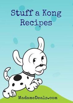 Kong recipes for Lexi:-)