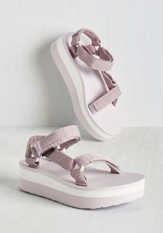 I Wanna Walk With You Sandal in Lavender, @ModCloth