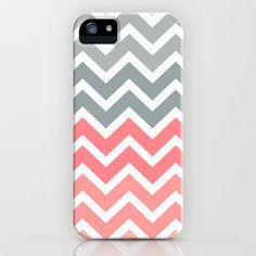 Chevron Pink Fade iPhone & iPod Case