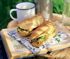 This omelette baguette recipe makes a great lunch. You can flavor the omelettes for a different lunch everyday using herbs, cheese, ham, bacon or smoked salmon. Asda Recipes, Other Recipes, Lunch Recipes, Breakfast Recipes, Baguette Recipe, Chopped Ham, Apple Oatmeal, Savoury Baking, Recipe Using