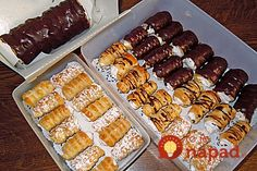 Bombastické trubičky lenivej gazdinky: Tento dezert zvládne pripraviť každý a sú fantastické! Bakery Business, Dream Cake, Eclairs, Cookies, Carrot Cake, Superfood, Donuts, Sausage, Food And Drink
